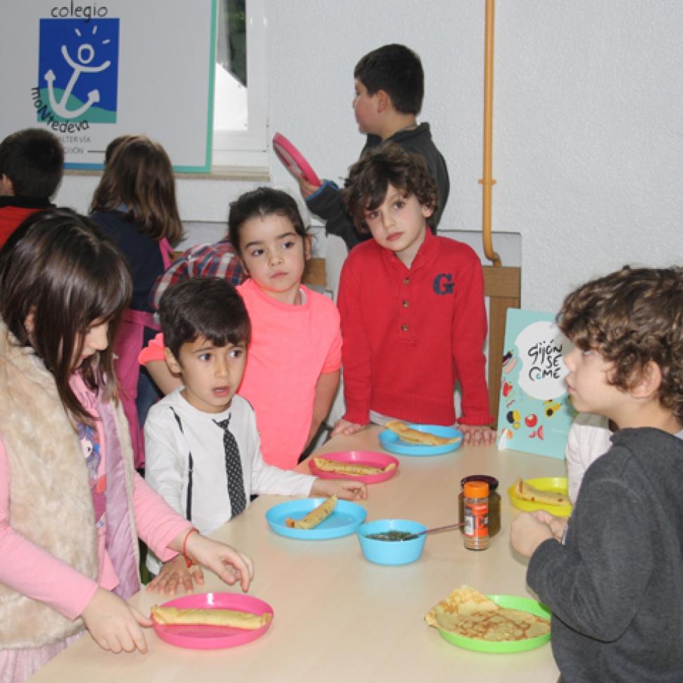 GijónSeCome compensa su huella ecológica con una jornada de educación ambiental