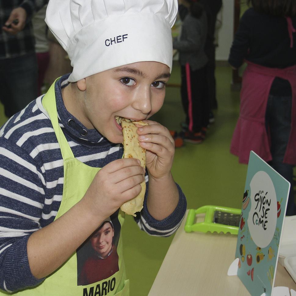 Compensación huella ecológica de la I edición del festival gastronómico sostenible GijónSeCome