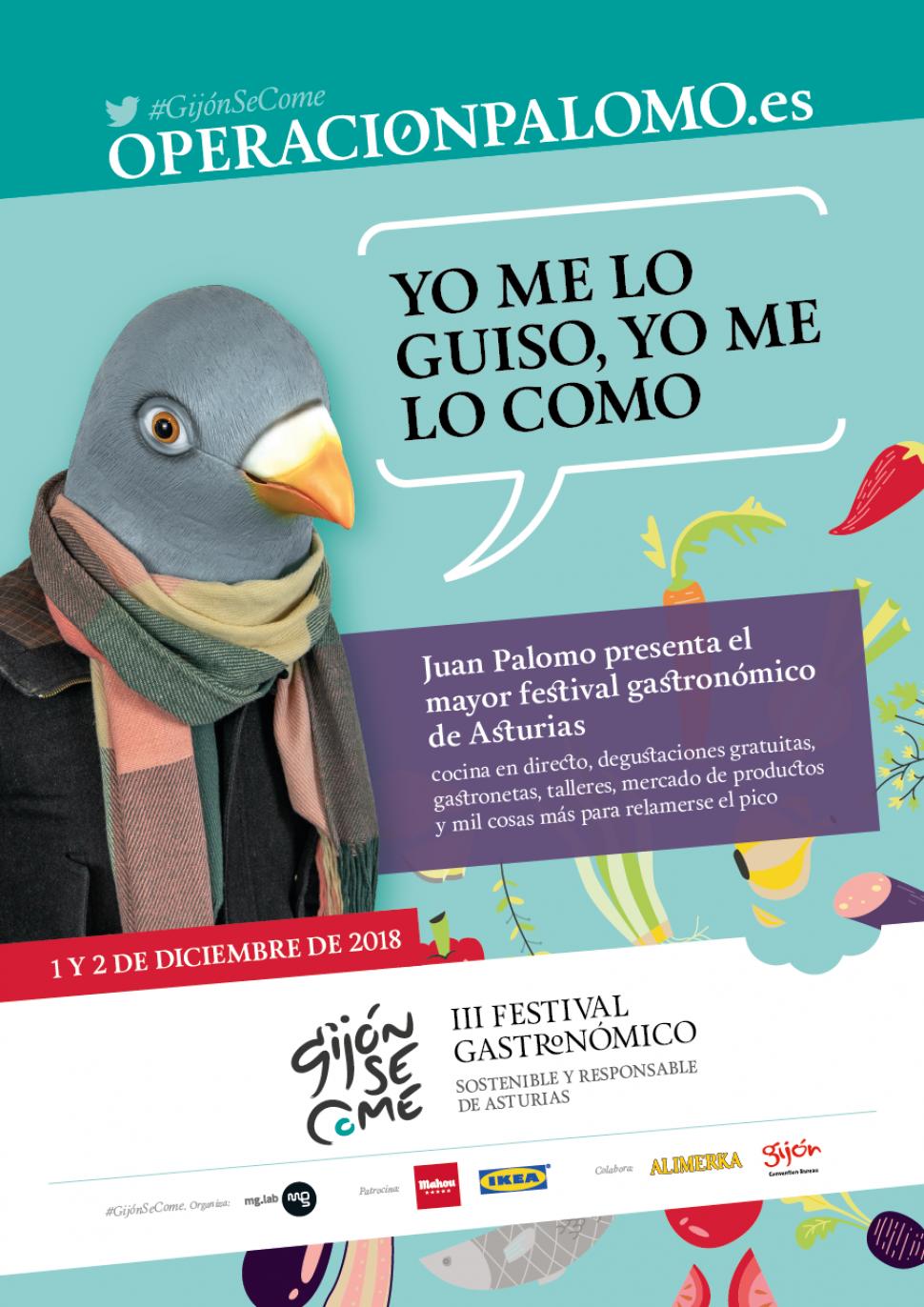 #OperaciónPalomo: todo listo para el mayor festival gastronómico de Asturias
