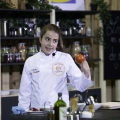 Estela Antuña, concursante de MasterChef Junior.
