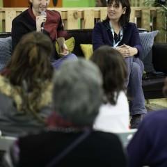 Sebastián Simón y Sandra Oviés (Érase un Gourmet) en la Gastrolibrería