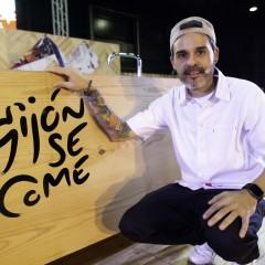 El cocinero Juan Llorca visitó GijónSeCome por segundo año consecutivo.