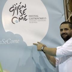 El cocinero portugués Óscar Geadas (1 Estrella Michelin).