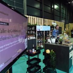 Taller de coctelería con infusiones Montecelio, a cargo de Enrique Salgueiro, barista de Cafento.