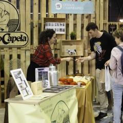 El stand de 'Campo Capela' (Galicia) en la 'Zona Market'.