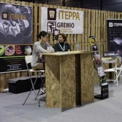 El stand conjunto del Gremio de Artesanos Confiteros del Principado de Asturias y el  Instituto Técnico de la Pastelería y Panadería Asturiana (ITEPPA)