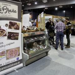 El stand de 'Cárnicas La Braña' (Asturias) en la 'Zona Market'