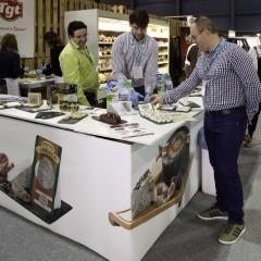 El stand de 'TGT - Todo un mundo de quesos' en la 'Zona Market'