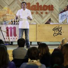 Ponencia de Xavier Barriga (Panadería Turris, Barcelona) en el 'Escenario Mahou'.